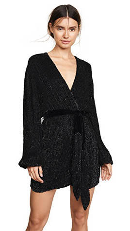 Retrofete Gabriella Sequin Robe