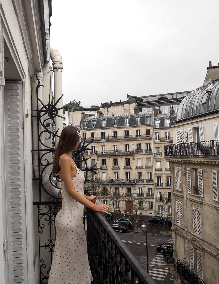 Where to stay in Paris balcony