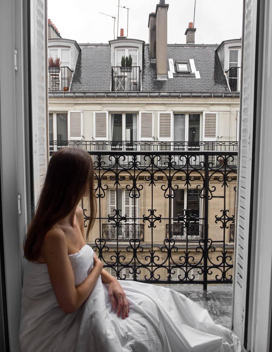 Luxury Paris Hotel Balcony