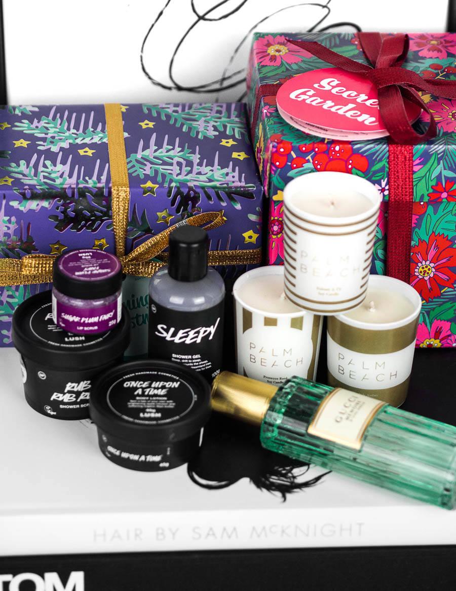 Lush Skincare Christmas Products