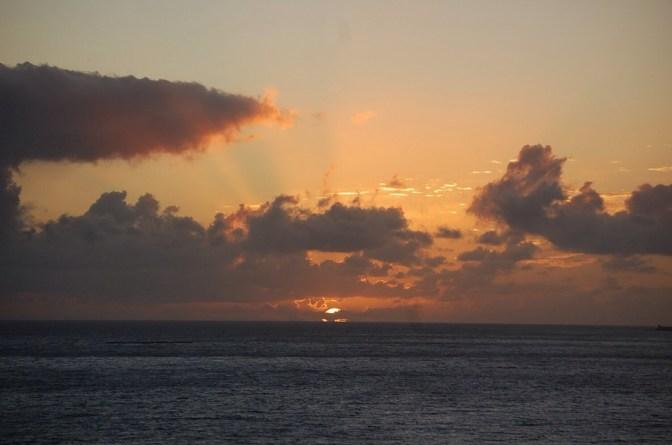 Por do Sol na Faja dos Padres, Madeira