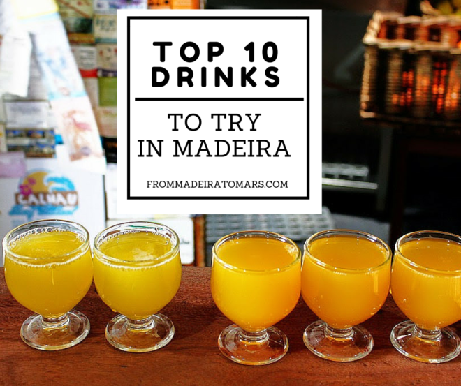 drinks in madeira