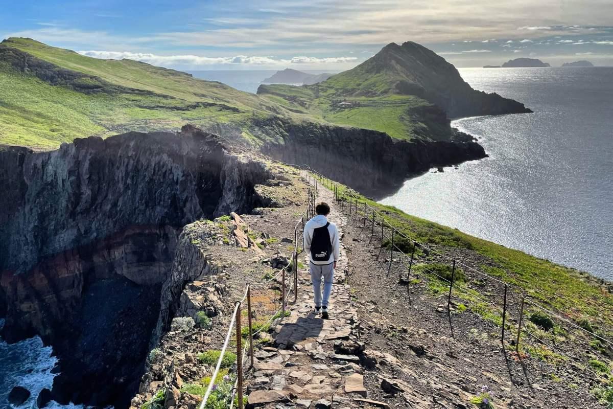 caminhadas curtas na Madeira