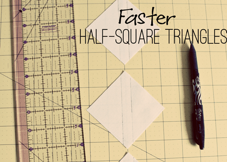 Faster Half-Square Triangles Tutorial - from Marta with Love