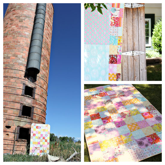 Pretty Little Patchwork Quilt
