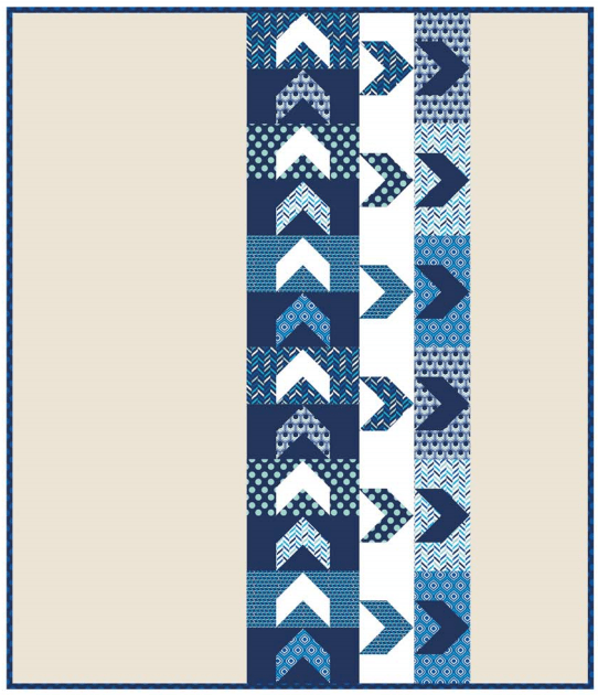 Chevron Arrows Quilt