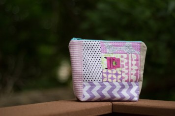 girly zip pouch