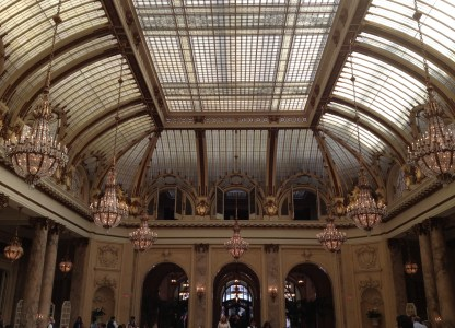Ceiling of the Palace Hotel