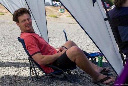 Casini Ranch - Scott relaxing
