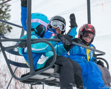 Daniel on the Chair Lift