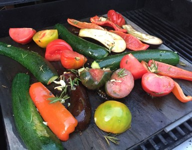 Grilled veggies La Plancha