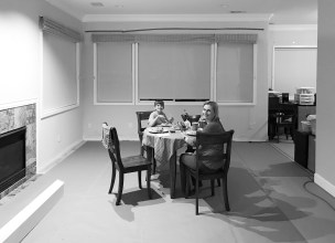 our temporary dining room