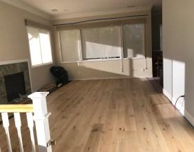 floor coming along...