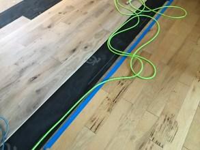 new vs. old flooring