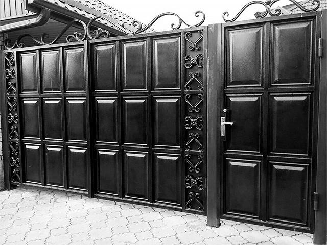 Филенчатые-ворота