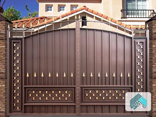 Металлические ворота Сайгон