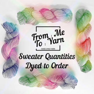sweater quantities dyed to order product image