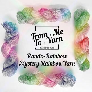 Rando-Rainbow Mystery Rainbow Yarn