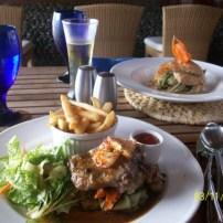 Dining at La Source