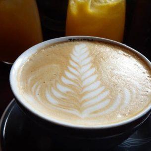 Fern on a Truth coffee