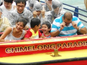 Water fun in Chimelong Paradise