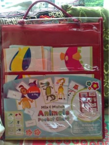 Mix & Match Animals Pocket Chart – a review