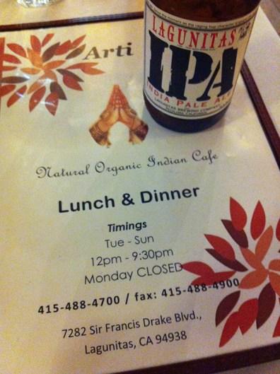 Arti - Organic Indian Restaurants! sooo YUMMY...
