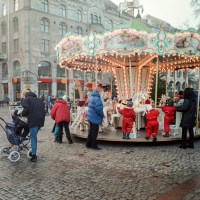 Carousel at Christmas