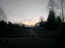 Road towards th cloud - Washington