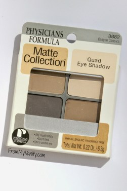 Physicians Formula Matte Collection Quad // Canyon Classic // Packaging // FromMyVanity.com