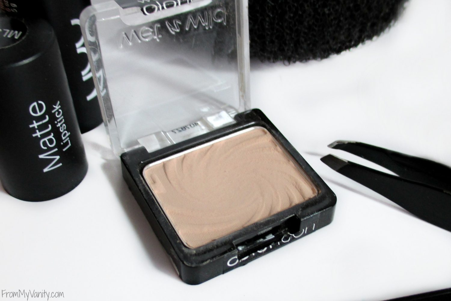 Monthly Beauty Favorites for September // Wet n Wild Color Icon Single Eyeshadow in Cream Brûlée // FromMyVanity.com