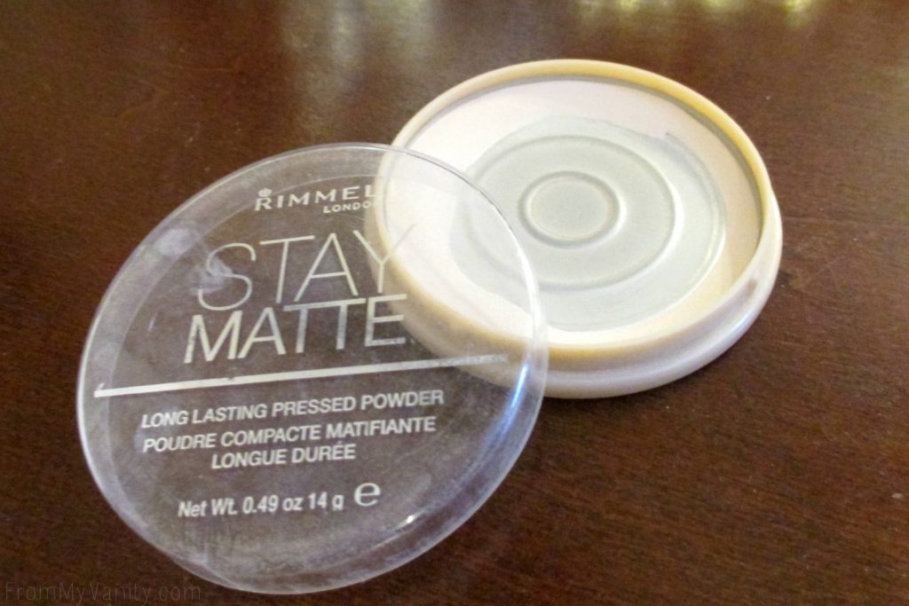 Project Pan: Finish 7 by Spring // Rimmel Stay Matte Powder // #Panning #ProjectPan FromMyVanity.com