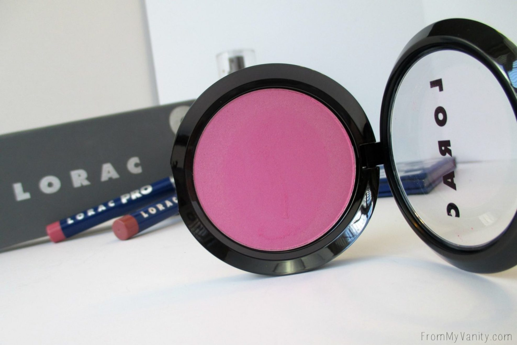 Lorac Color Source Buildable Blushes // Satin Vivid // FromMyVanity.com @LadyKaty92