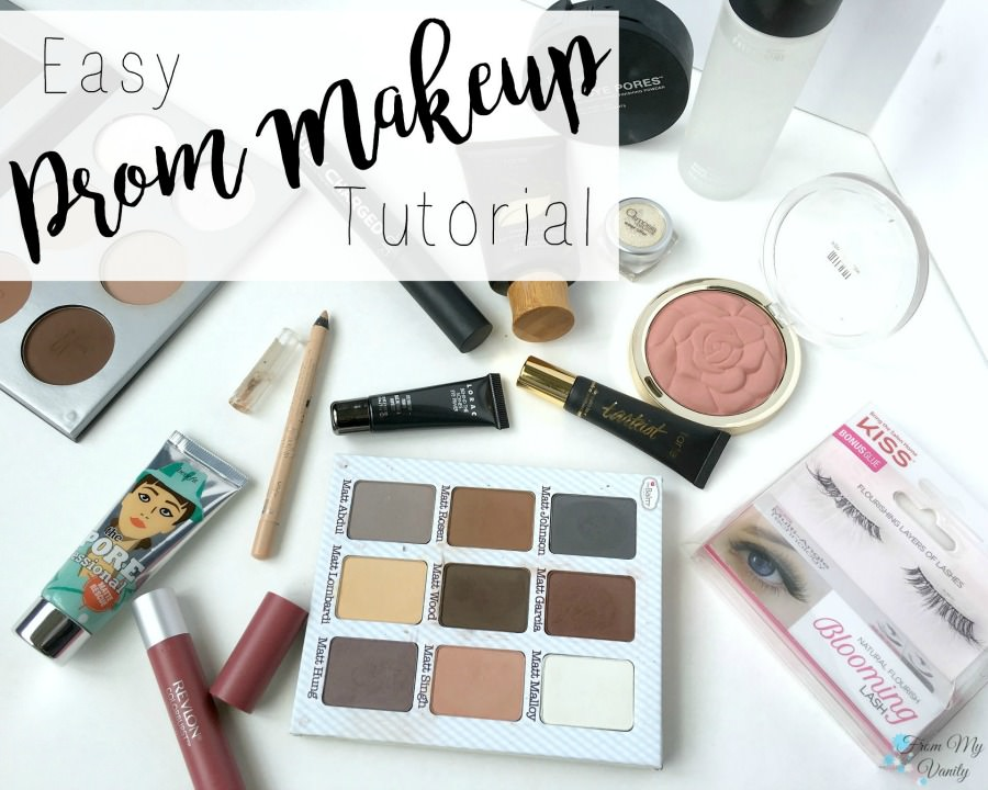 Easy and Romantic Prom Makeup Tutorial   FromMyVanity.com