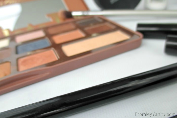 An outstanding palette and eyeshadow brush -- can't live without them!