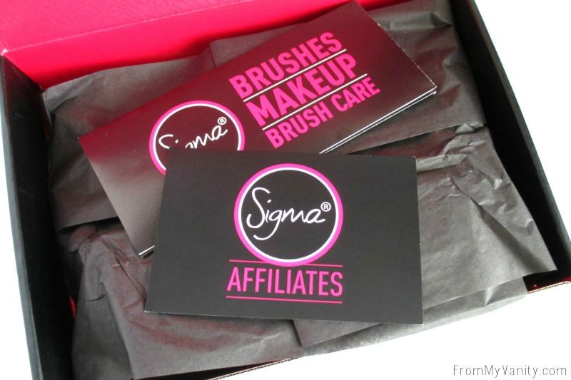 Sigma Affiliate's Surprise Box!