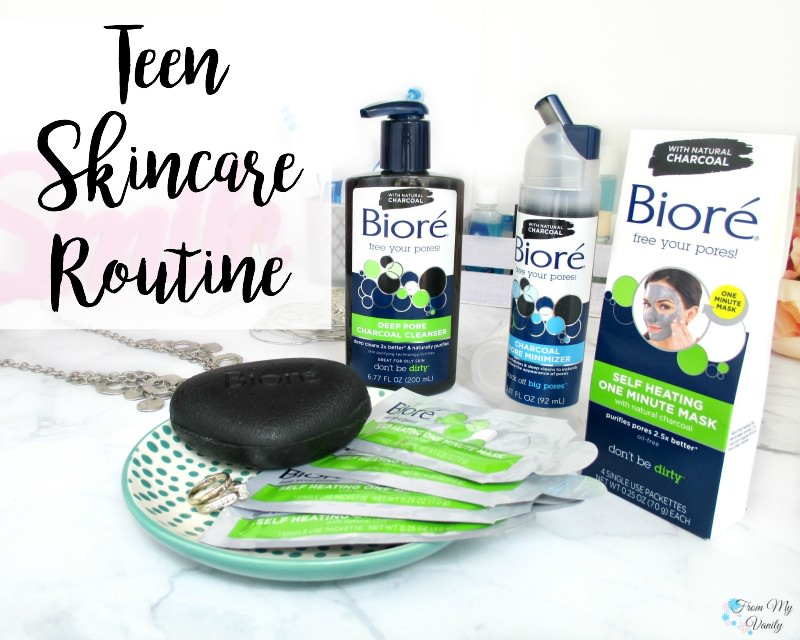 Easy Teen Skincare Routine for Oily Skin | FromMyVanity.com