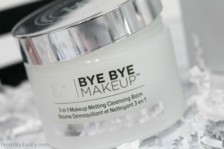 Bye Bye Makeup melts off any product effortlessly! Love this stuff!