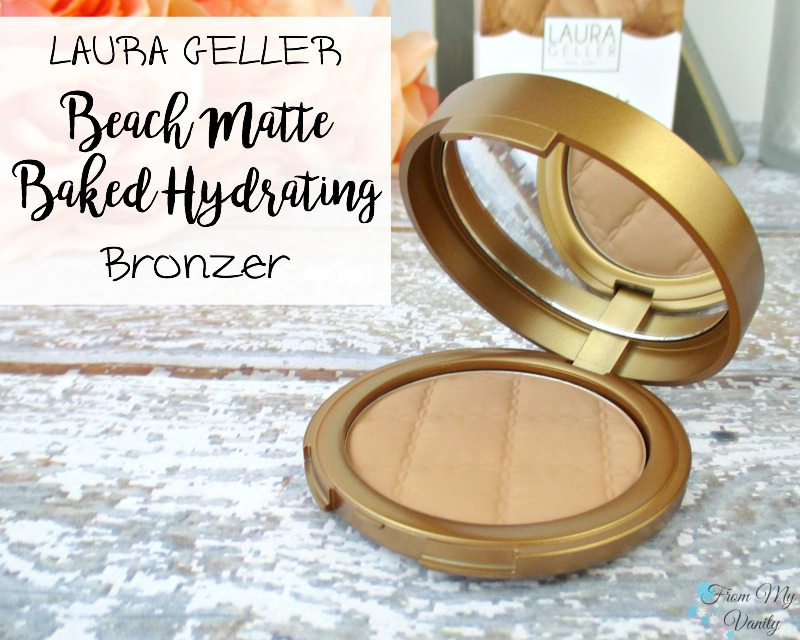 Laura Geller's Beach Matte bronzer is BOMB!
