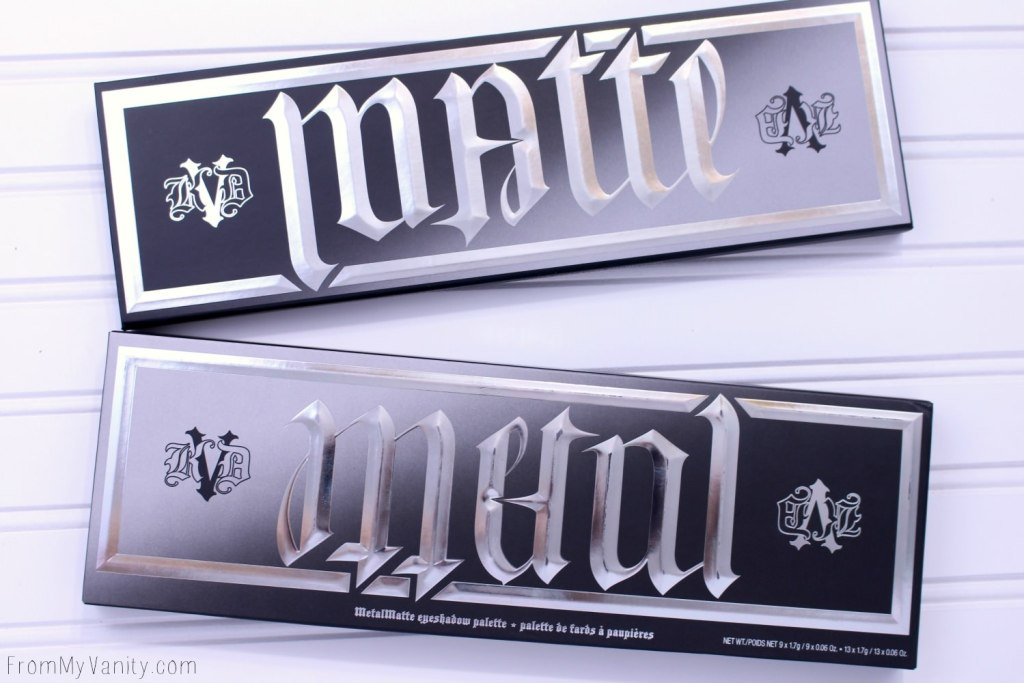 Kat Von D MetalMatte palette -- The way the name works is SO cool!