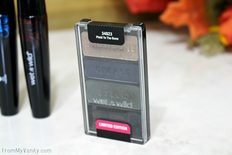 Wet n Wild Eyeshadow Trio in Plaid to the Bone - Limited Editon!