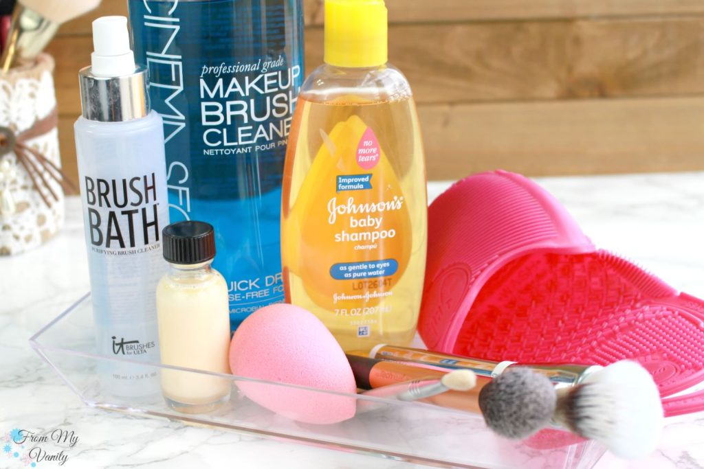 5 Ways to Wash Your Makeup Brushes