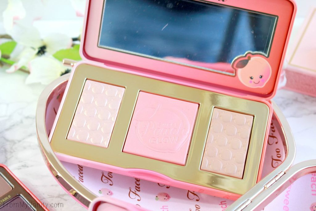 Too Faced Sweet Peach Collection | Sweet Peach Glow Peach-Infused Highlighting Palette | LIMITED EDITION