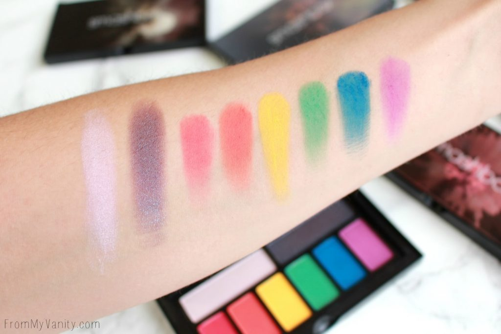 Smashbox Cover Shot Palette Collection | Bold | Swatches