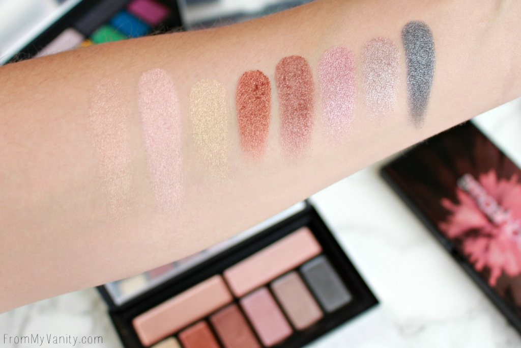 Smashbox Cover Shot Palette Collection | Metallic | Swatches