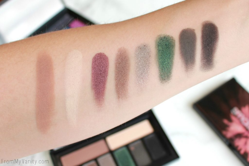Smashbox Cover Shot Palette Collection | Smoky | Swatches