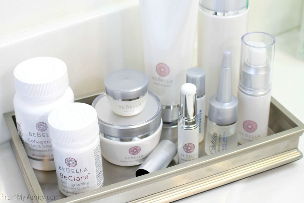 BeBella | the World's First Dual Process Probiotic Skincare System | The Entire System