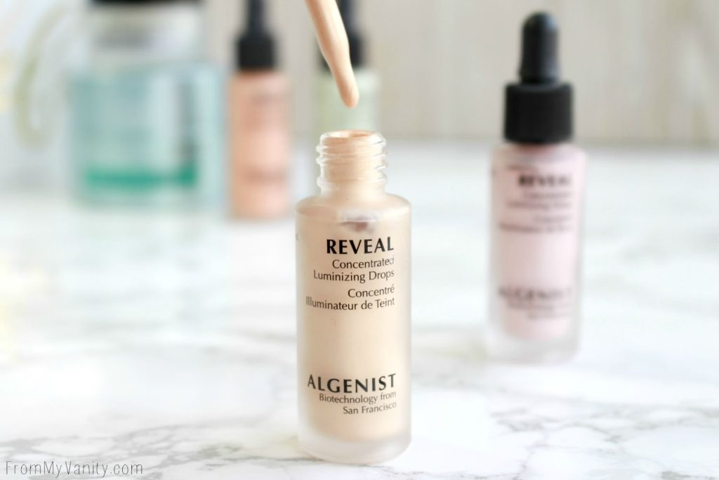 Algenist Reveal Concentrated Drops | The Secret to Natural Makeup? | Reveal Concentrated Illuminating Drops in Champagne