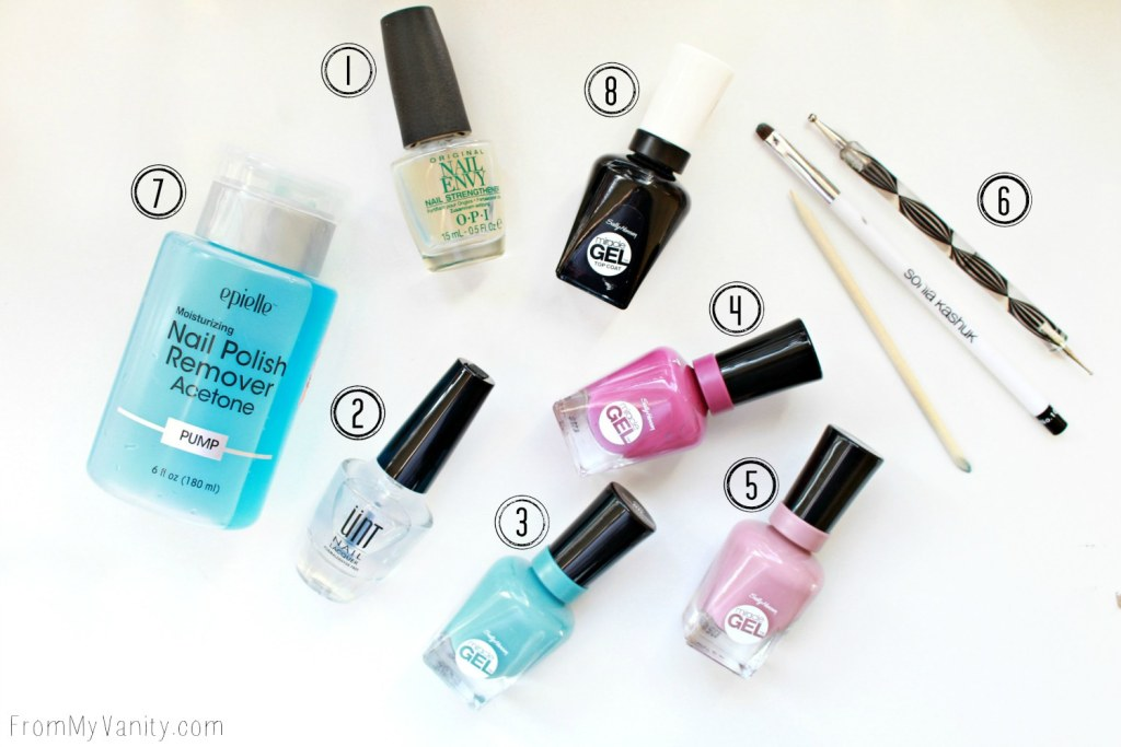 Easy Dotticure Nail Art | Tutorial | Supplies Needed