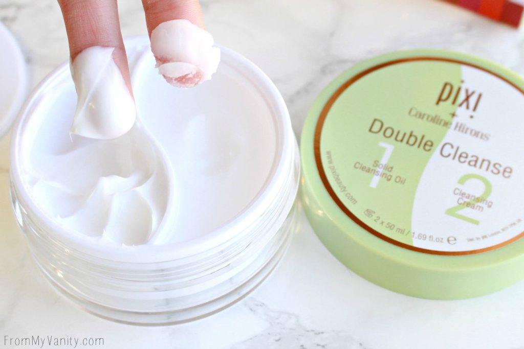 Pixi Collab Reviews | ItsJudyTime, Maryam Maquillage, Caroline Hirons, & Aspen Ovard | Caroline Hirons Double Cleanse | Finger Swatches